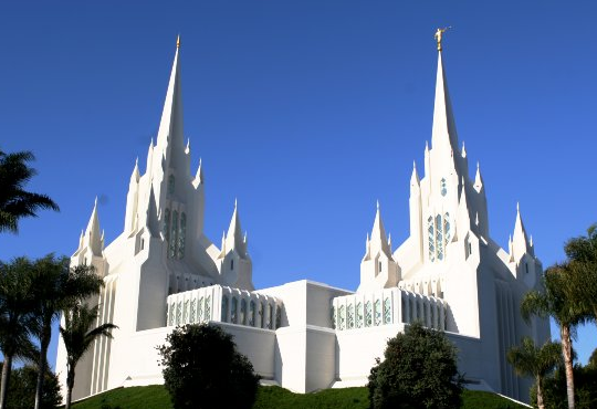 Photo from http://en.wikipedia.org/wiki/File:SanDiegoTemple.jpg