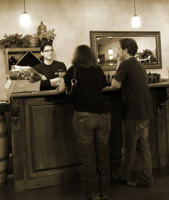 Wine tasting at Danza Del Sol in Temecula