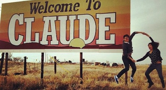 Electro-pop duo Claudeo ate its way across the states.