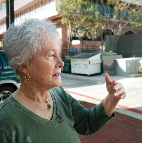 Leigh Hyman worries that noise from dining and live music at Amaya will destroy the quality of life at her neighboring condominium.