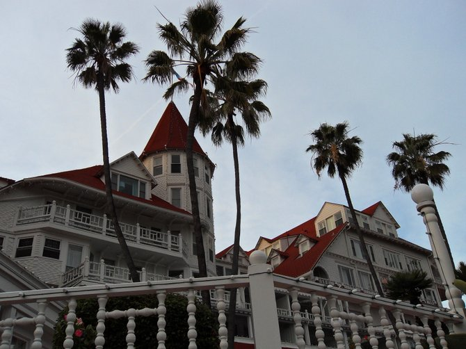 Christmas Day at Hotel DEL