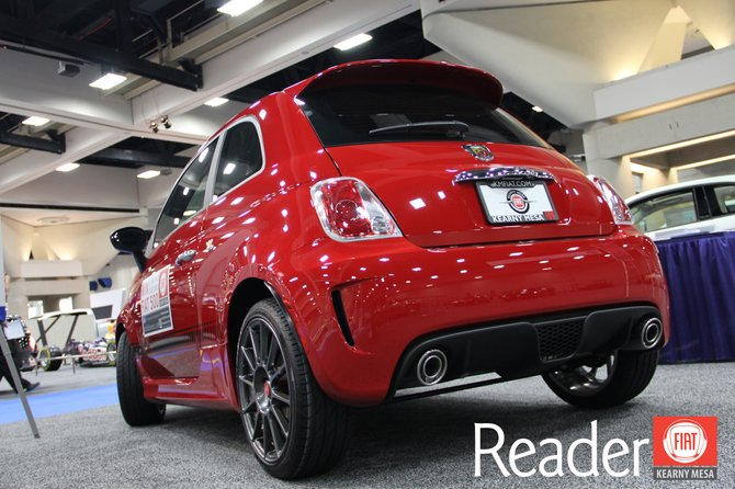 Win this Abarth at KMFIAT.com!