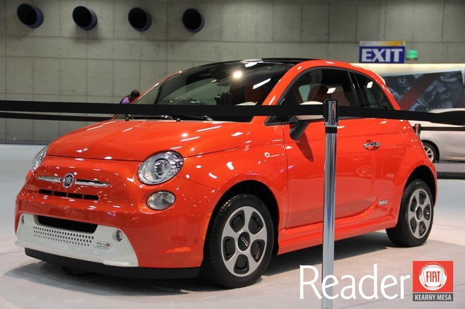 2013 FIATs at the 2012 San Diego Auto Show! photo