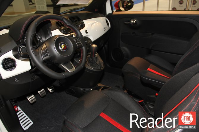 2013 Fiat 500 Abarth Interior