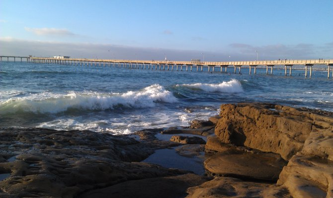 Serenity at Ocean Beach.