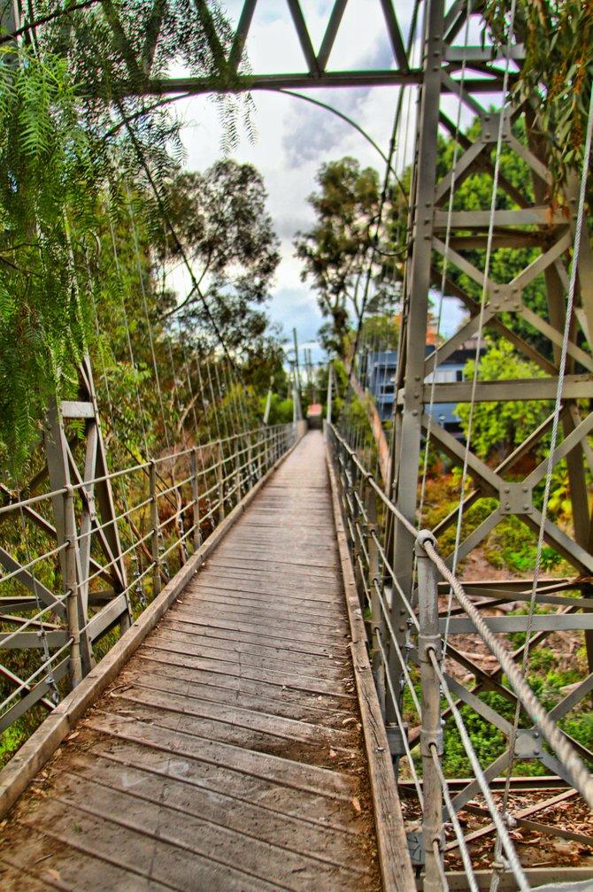 Spruce Street Bridge, Hillcrest