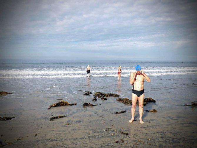 2013 Polar Bear Plunge La Jolla Shores