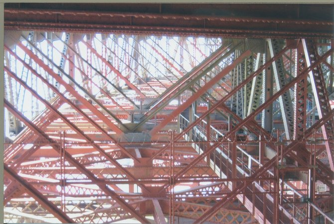 You've seen the Golden Gate Bridge, of course-but have you seen underneath it?
