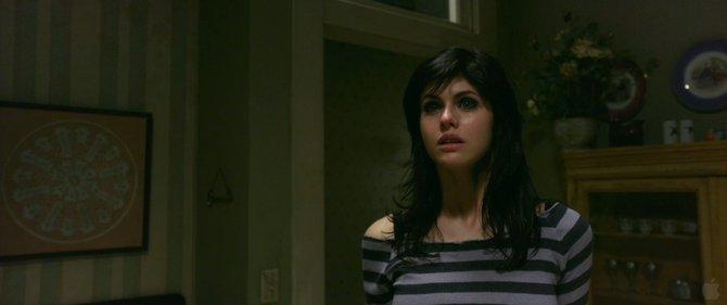 Kelly Kapowski...I mean, Alexandra Daddario as Heatherface.