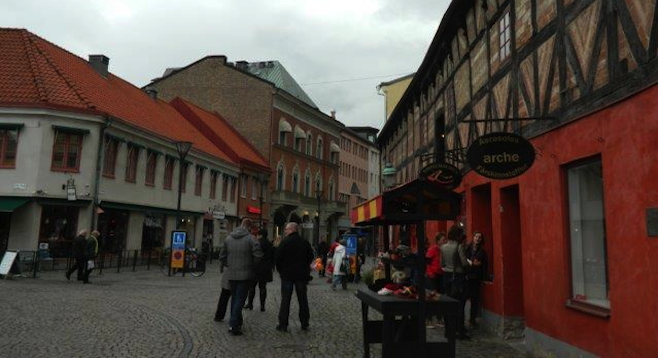 You can tell Malmö is steeped in history after walking its 15th-century cobblestone streets.