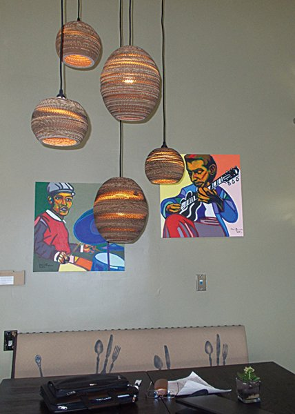 Arty corner