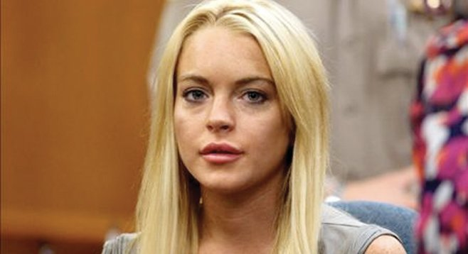 This blogger really wanted to share drinks and pillow talk with Lindsay Lohan.