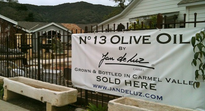 Conditions are ripe for artisan olive oil producers like Jan de Luz in the Central Coast's Carmel Valley.