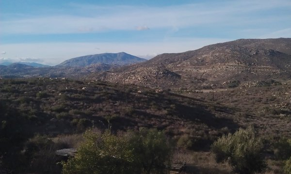 Looking out to Tecate from the Ruta del Vino