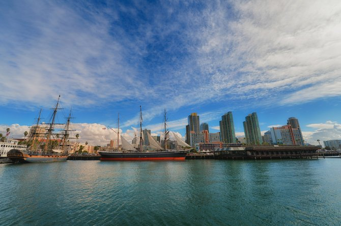 Went for a cruise along San Diego Bay and took this image of beautiful downtown San Diego.