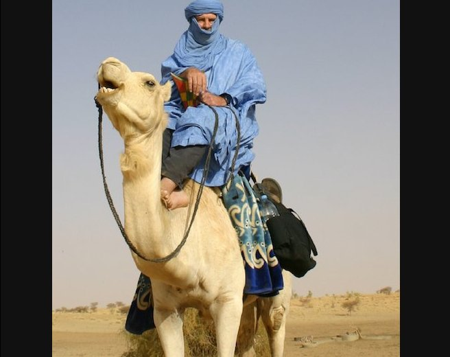 In the Sahara Desert, appearances can be deceiving...