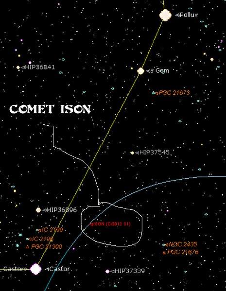 Starry Night Pro Comet ISON