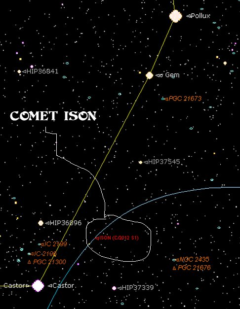 Starry Night Pro Comet ISON