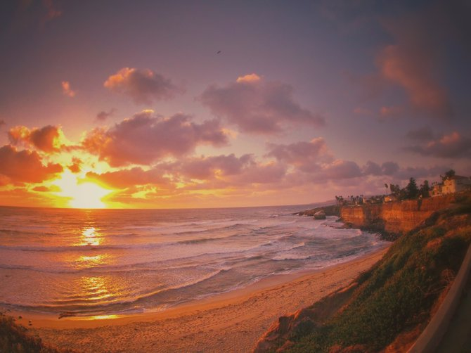 Sunset Cliffs Love // Point Loma  Chris Nies  @sandiegochris