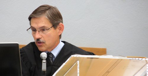 Superior Court Judge Sim von Kalinowski.  Photo Weatherston.