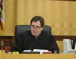 Judge Aaron Katz.  Photo credit Weatherston.