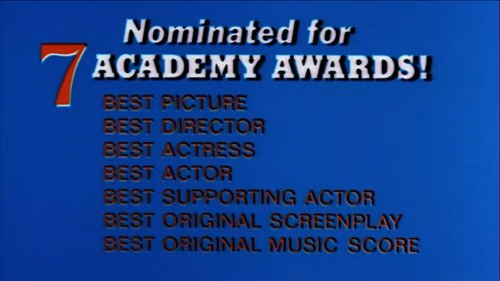 "Lest we forget, ""Love Story"" was nominated for 7 Oscars."
