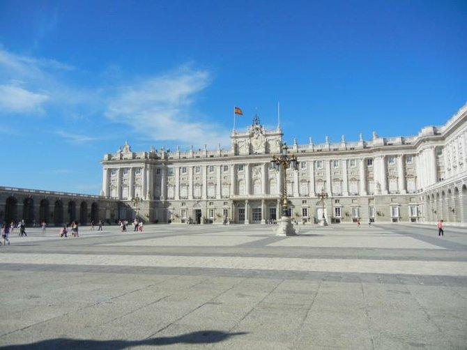 Palacio Real in central Madrid.