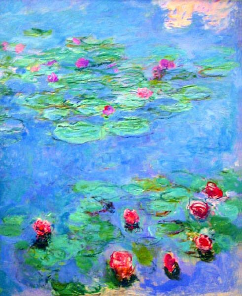 Monet Style Water Lilies