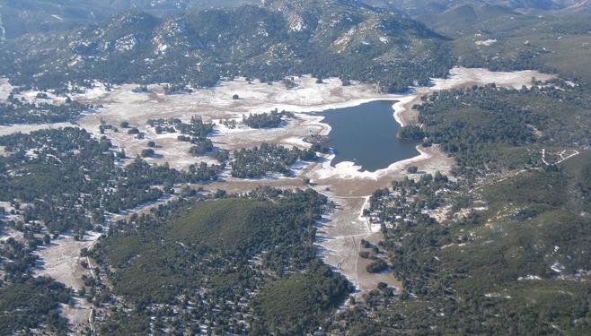 Lake at Corte Madera Dam