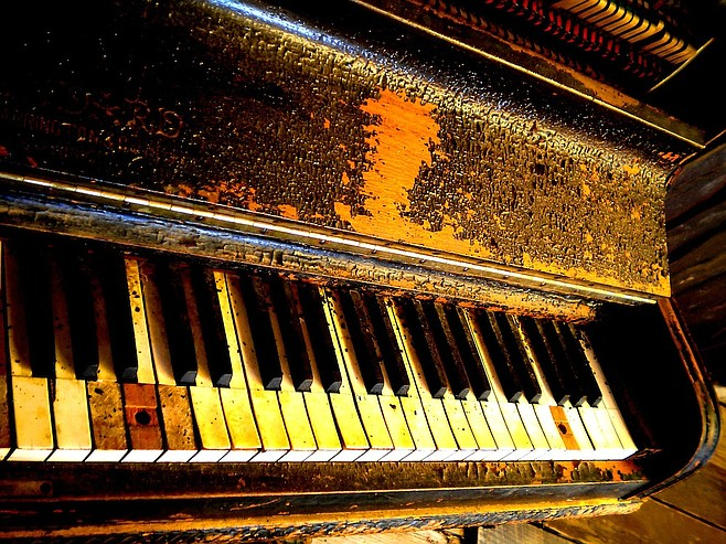 Said honky-tonk piano.