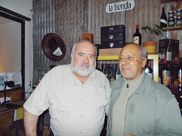 Winemaker Ismael and restaurateur Armando like to talk about the Baja-Med food movement.