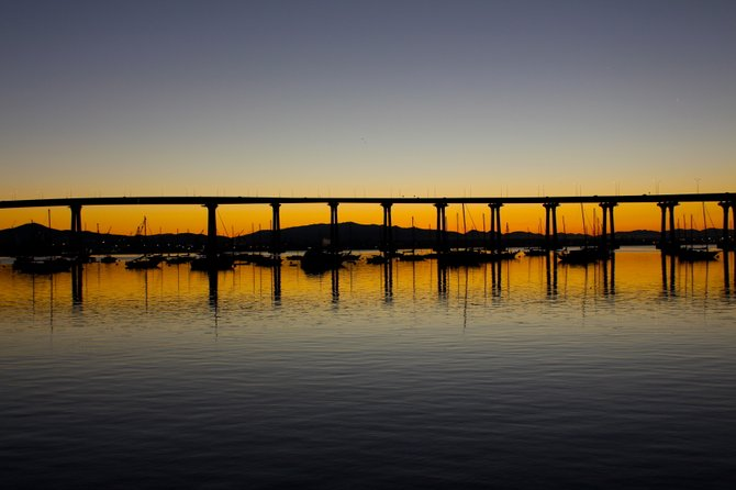 Suns Up Under the Bridge