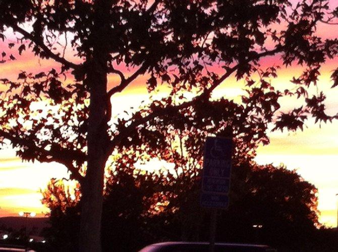 sunrise in santee