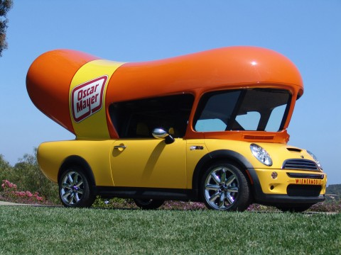 Today's Wienermobile.