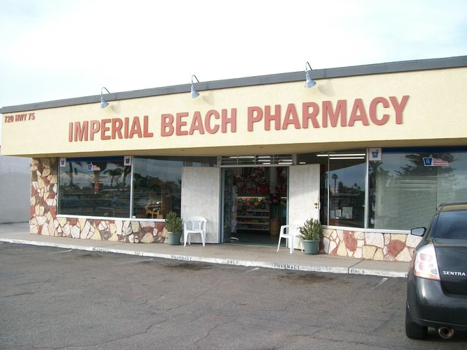 Imperial Beach Pharmacy at 720 State Route 75 near 7th Street.
