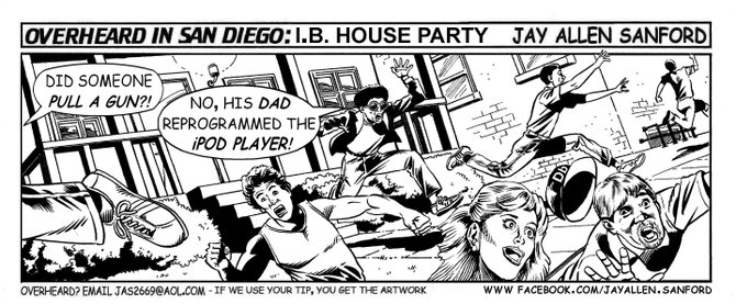 O.B. house party