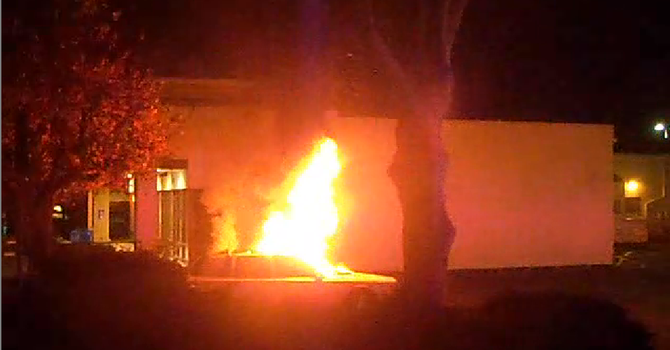 (image from video shot by the author