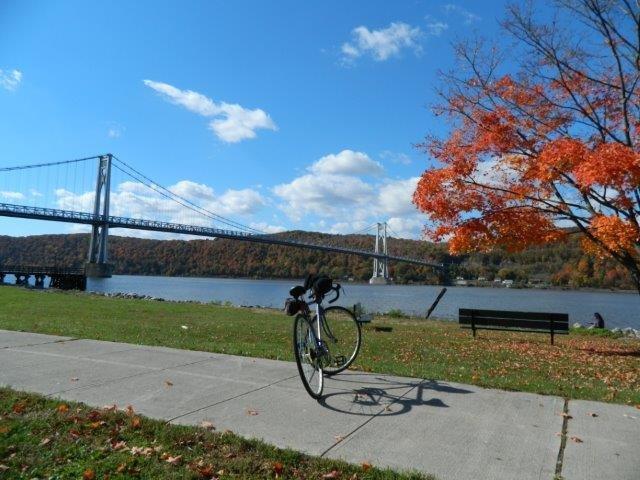On the Hudson.