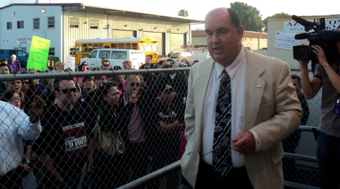 Sweetwater superintendent Ed Brand will propose changing board meeting hours to mid-afternoon.