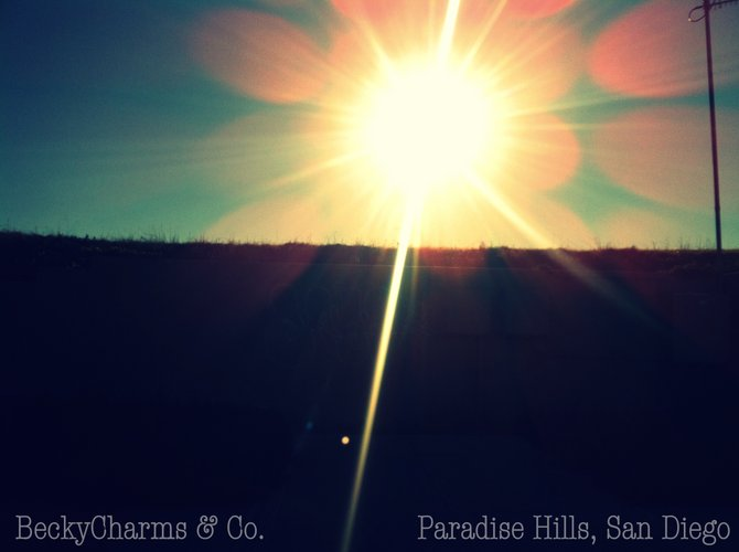 Midday sunshine in Paradise Hills