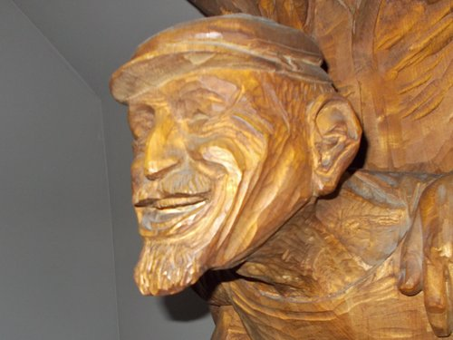 Carving of Spike Africa