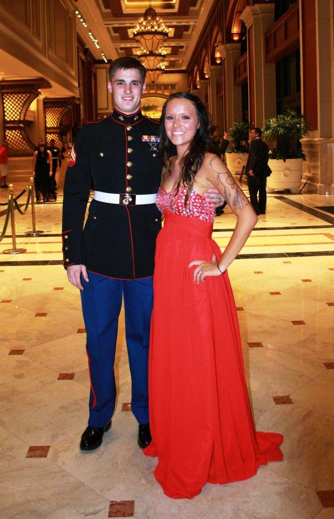 Jessica and Brad McCaw