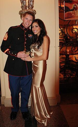Alina Anaya and Dustin Awesome