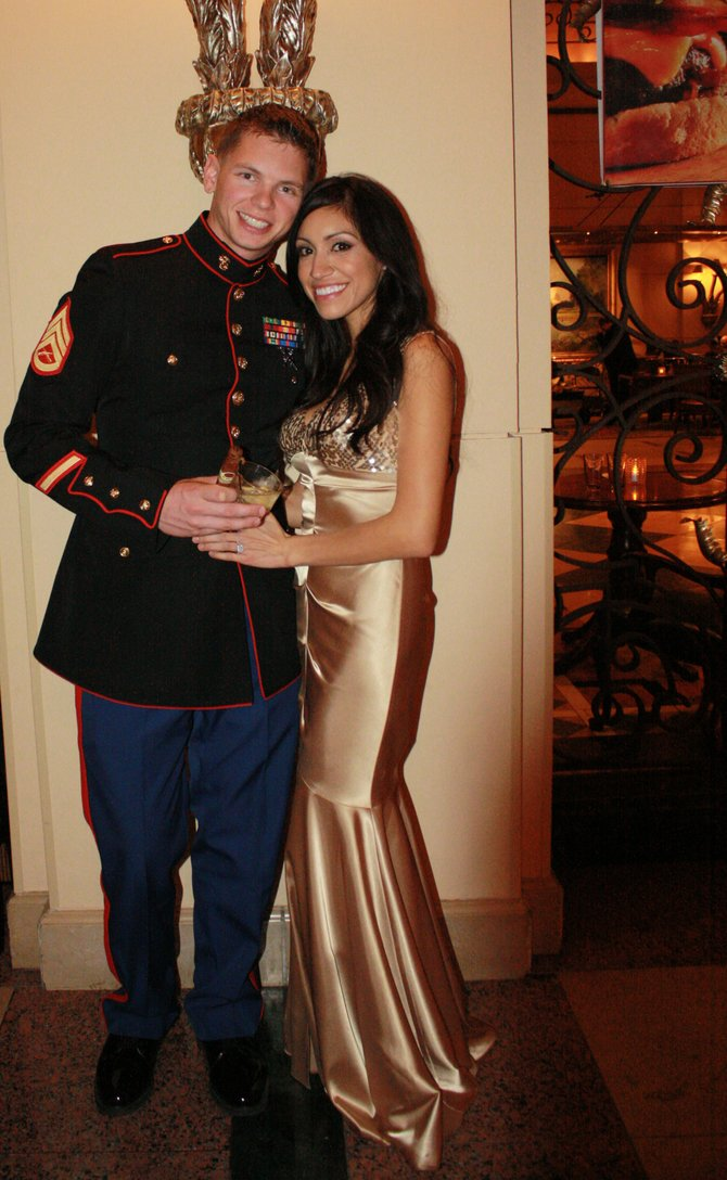 Street style marine corps birthday ball san diego reader alina anaya and dustin awesome bookmarktalkfo Gallery