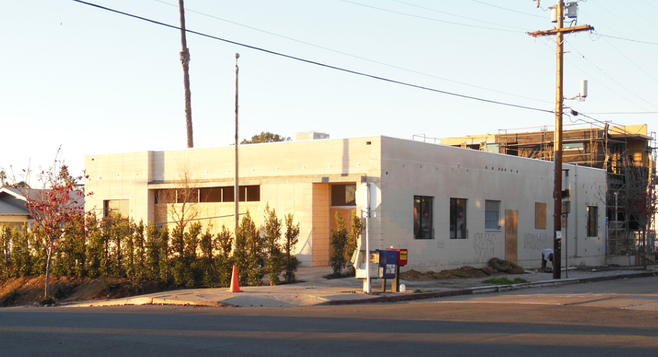 Former Golden Hill Post Office (Photo by Irvin Gavidor)