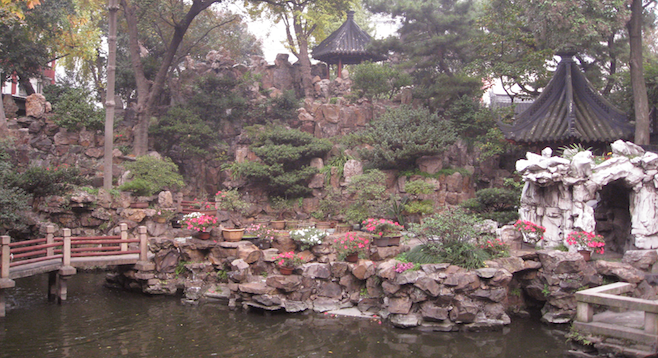 Finding Peaceful Gardens In The Bustling Metropolis Of Shanghai U2013 At 17  Million People, The