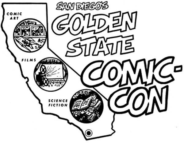 First Comic-Con Logo, 1970.