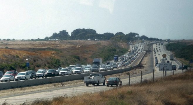 "Interstate 5 ""Up through Camp Pendleton is kind of fun. It's scenic."""