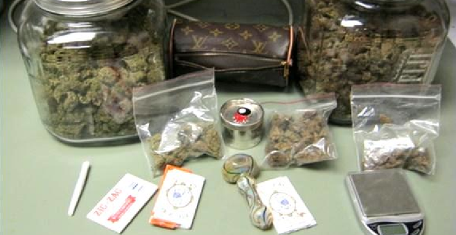 Confiscated January 7 at a Border Patrol checkpoint