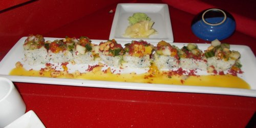 Pacific roll at RA
